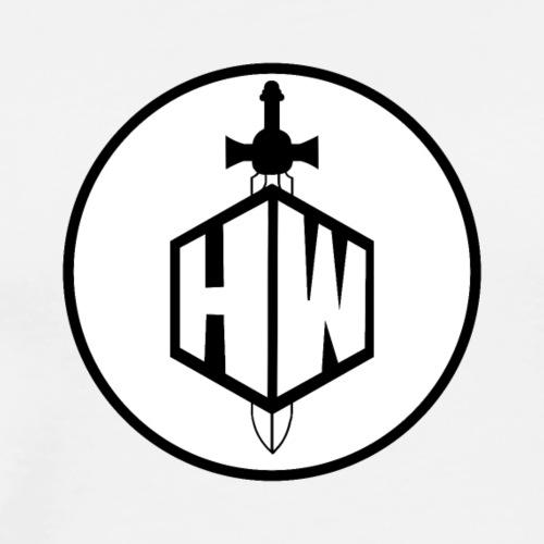 Hellstorm Button Logo - Men's Premium T-Shirt