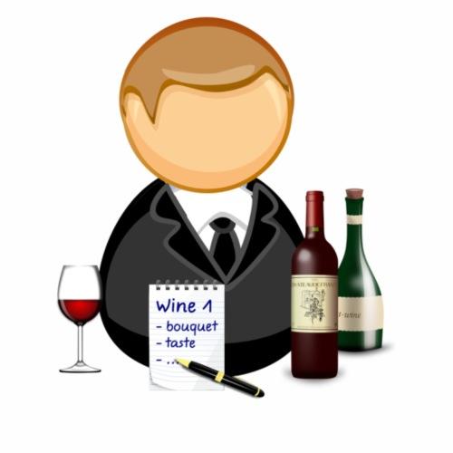 Wine Tasting - Men's Premium T-Shirt