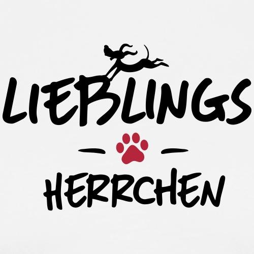 lieblings herrchen - Männer Premium T-Shirt