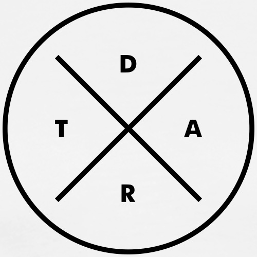 Hipster Dart - Männer Premium T-Shirt