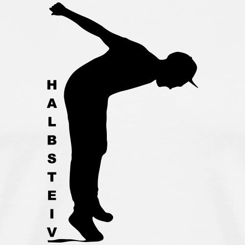 Halbsteiv Design 2019 - Schwarzer Druck - Männer Premium T-Shirt