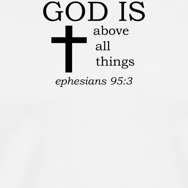 'GOD IS' t-shirt