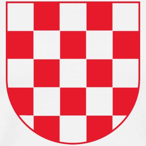 Herzegovina Hercegovina Hrvatska Croatia Mi Hrvati - Männer Premium T-Shirt