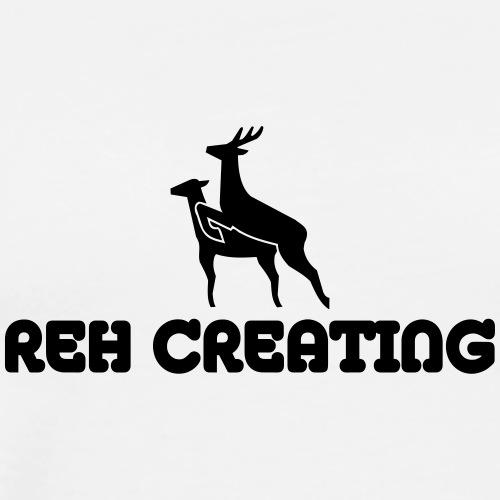 Reh Creating - Männer Premium T-Shirt