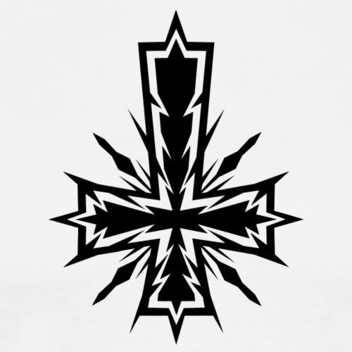 Inverted Electric Cross - Camiseta premium hombre