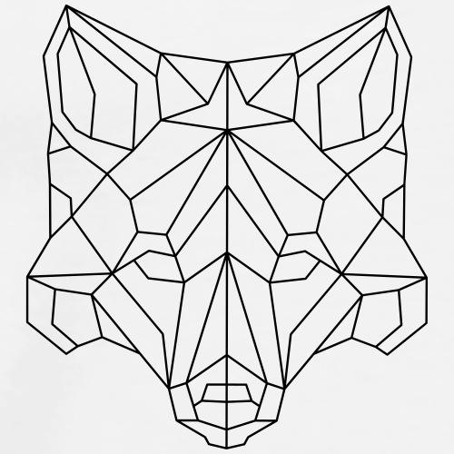 Fuchs geometrisch - Männer Premium T-Shirt