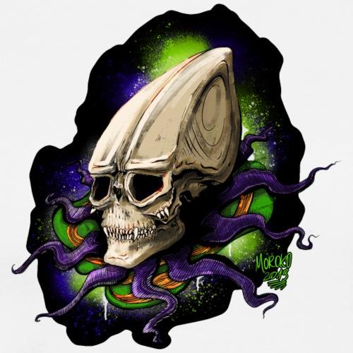 Alien BONE SQL - Filed - Men's Premium T-Shirt