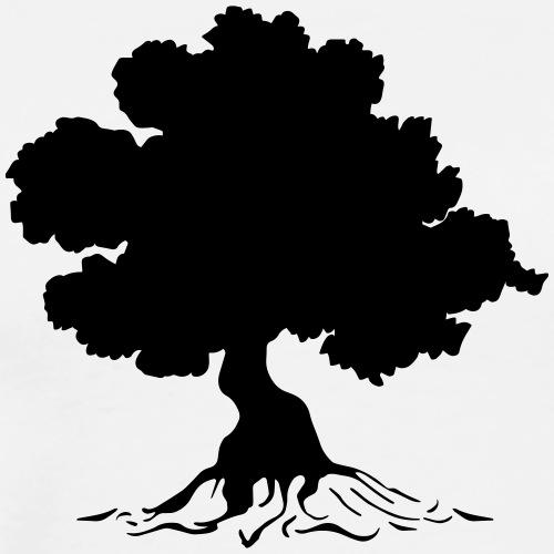 Famlay Tree Full - Mannen Premium T-shirt