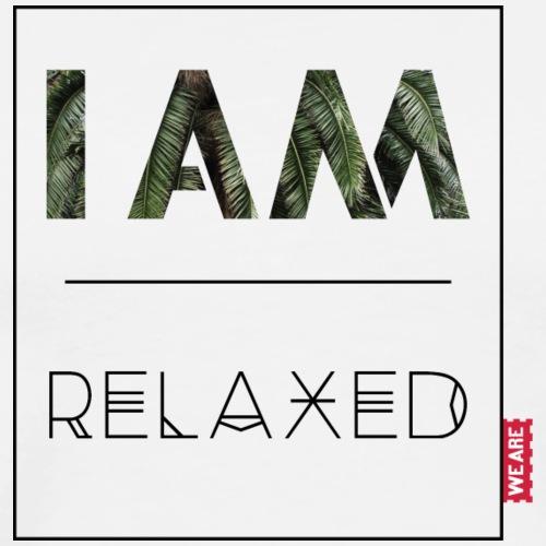 I AM relaxed - Männer Premium T-Shirt