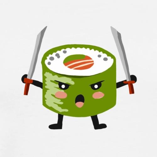 Sushi samourai ninja - T-shirt Premium Homme