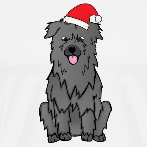 Weihnachtspyrshep grau - Männer Premium T-Shirt