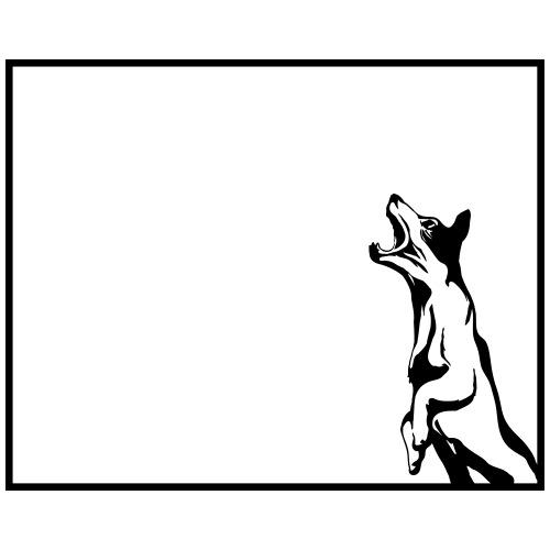 chien cadre - T-shirt Premium Homme