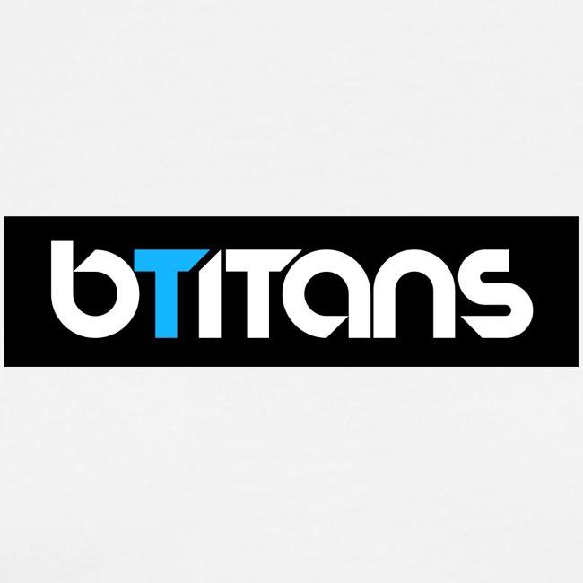 BTITANS Boxed Logo Print