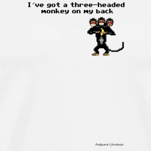 monkey png - Maglietta Premium da uomo