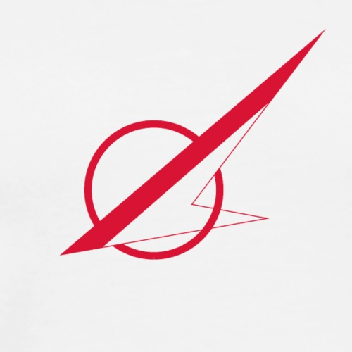 Øst Sjællands flyveklub Logo (uden tekst) - Herre premium T-shirt