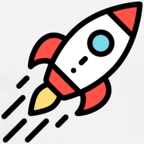 T-Shirt selber gestalten Ideen Rakete - Männer Premium T-Shirt