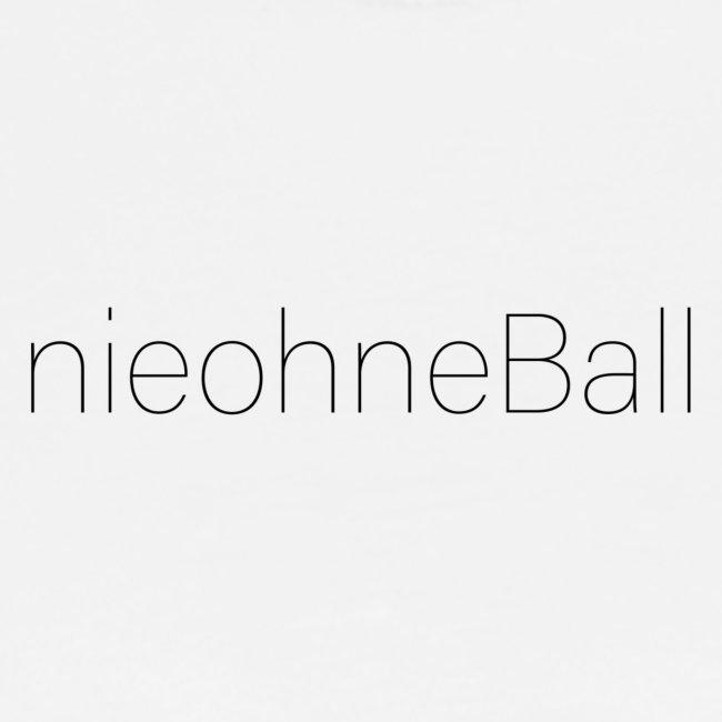 nieohneBall Statement - White Edition