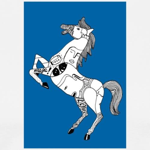 Danse équestre - T-shirt Premium Homme