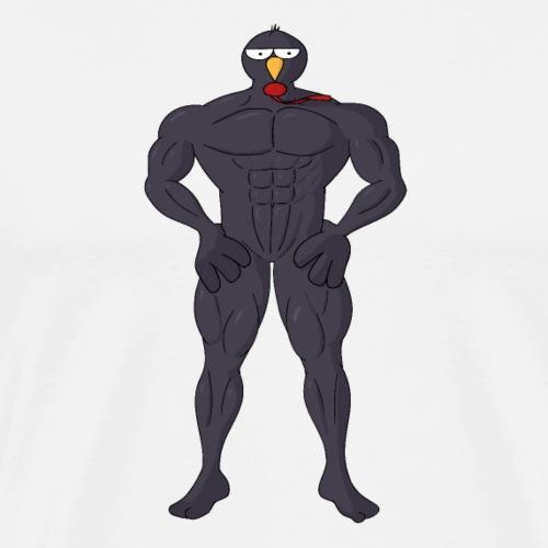 Muskeli Raineri - Miesten premium t-paita