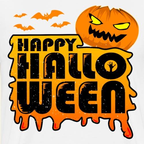schauriger Kürbis Happy Halloween