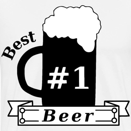 Best Beer #1 - Männer Premium T-Shirt