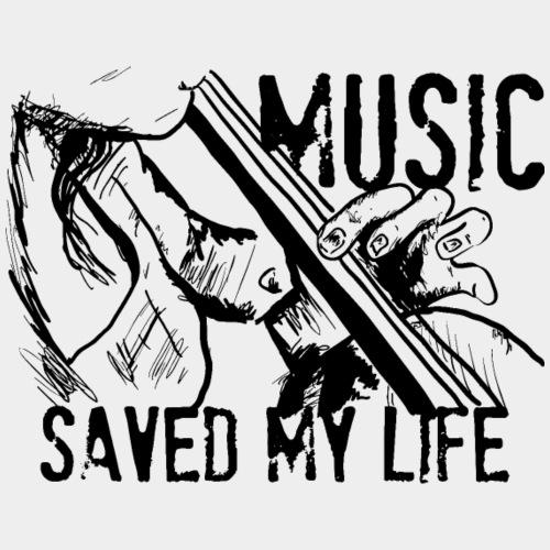 music is live - T-shirt Premium Homme