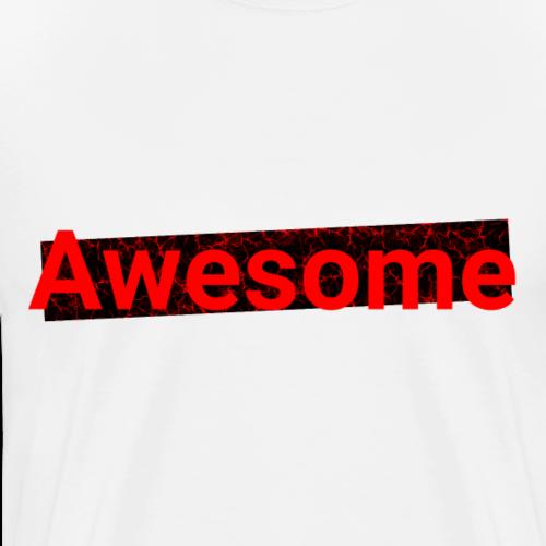 Awesome - Rot, schwarz / SPEZIAL
