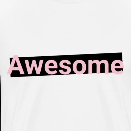 Awesome - Pink, schwarz