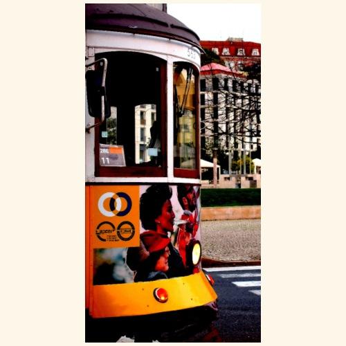 Scorcio tram colorato - Maglietta Premium da uomo