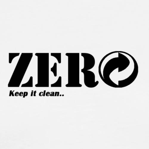 Zero - Herre premium T-shirt