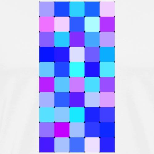 Pixelated sky - Männer Premium T-Shirt