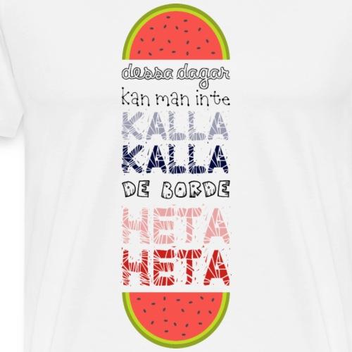 DESSA DAGAR - Premium-T-shirt herr