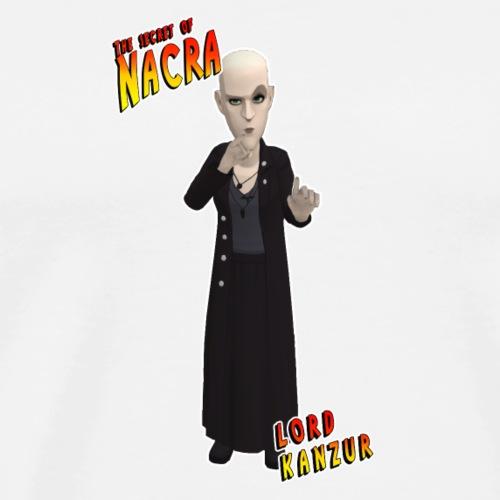 The secret of nacra - LORD KANZUR - Camiseta premium hombre