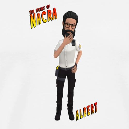 The secret of nacra - ALBERT - Camiseta premium hombre