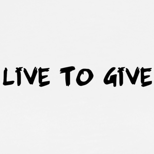 Quotees UF - Live to give - Premium-T-shirt herr