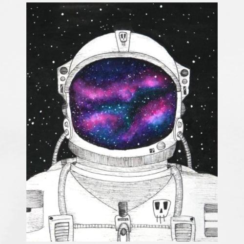 astronaut in space - Mannen Premium T-shirt