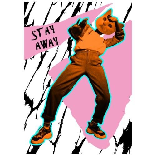 Stay Away - Männer Premium T-Shirt