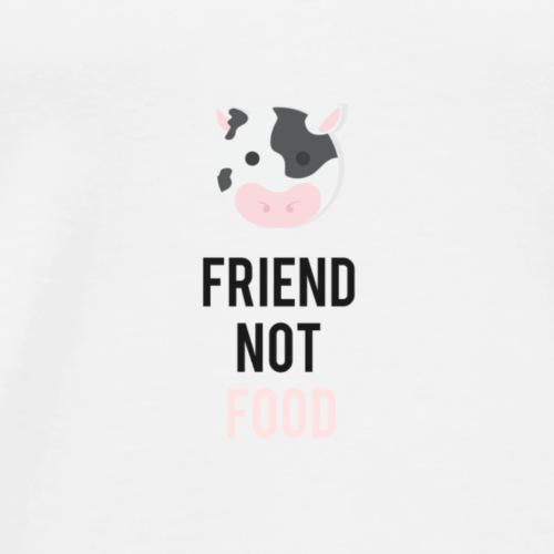 Friend not food Vache Bepa - T-shirt Premium Homme