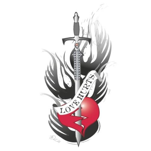 Love Hurts 3 - Liebe verletzt - Männer Premium T-Shirt