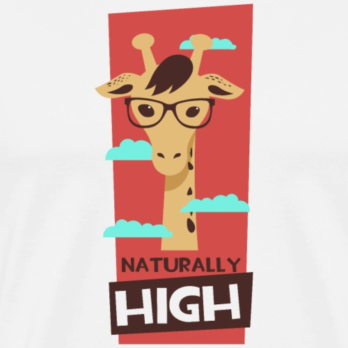 naturally high - Männer Premium T-Shirt