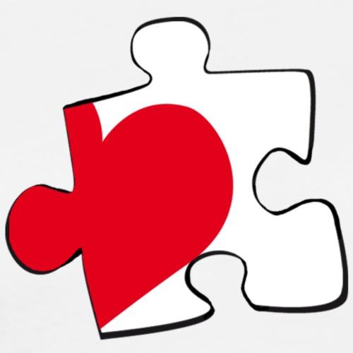 HEART 2 HEART HIS - Maglietta Premium da uomo