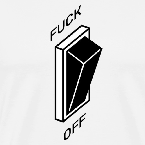 Interrupteur Amusant - T-shirt Premium Homme