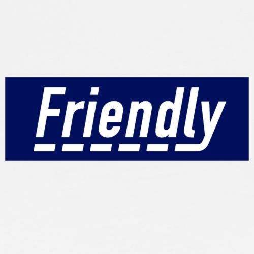 FRIENDLY BOX LOGO - Men's Premium T-Shirt