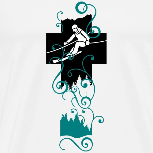 SKI ALPIN - Männer Premium T-Shirt