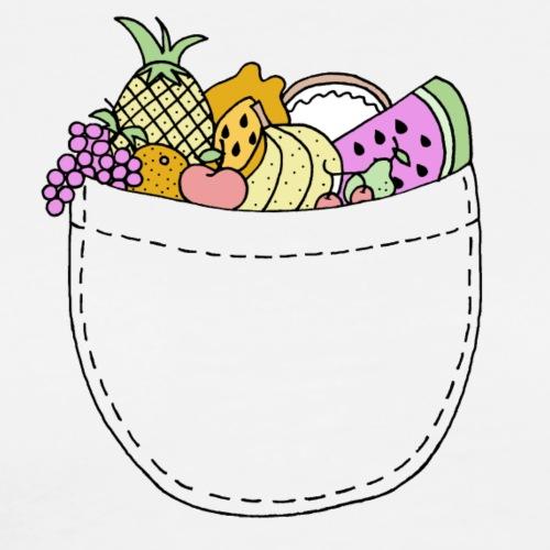 Fruit Pocket - Men's Premium T-Shirt