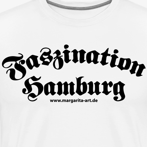 04 Faszination Hamburg Margarita Art - Männer Premium T-Shirt