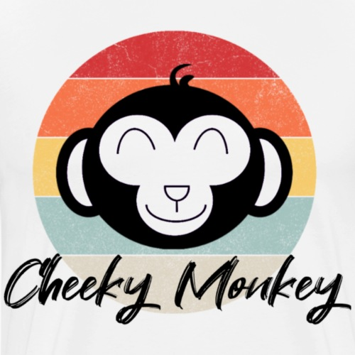 Cheeky monkey - Mannen Premium T-shirt