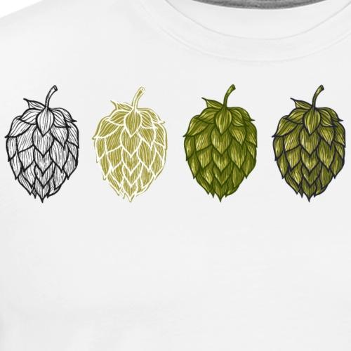 Hops Flowers - Men's Premium T-Shirt
