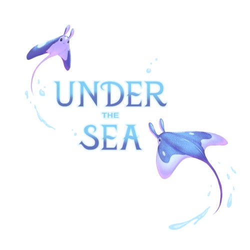 Under the Sea Mantas - T-shirt Premium Homme