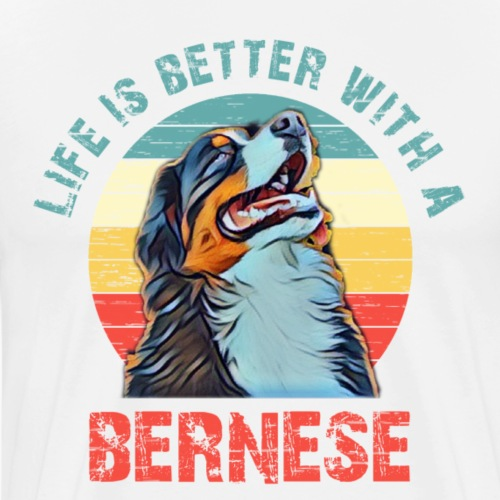 Bernese mountain dog - Mannen Premium T-shirt